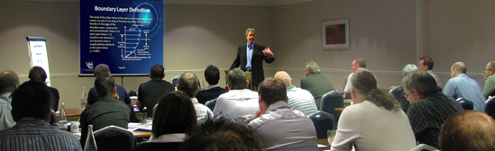 Chris lecturing in Birmingham, UK